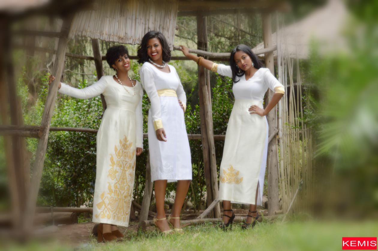 Ruby Bridges Ethiopian Dresses Kemis Designs