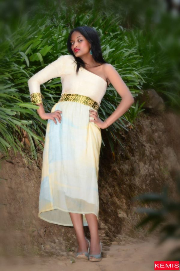 Ethiopian dresses-Dress for your body shape