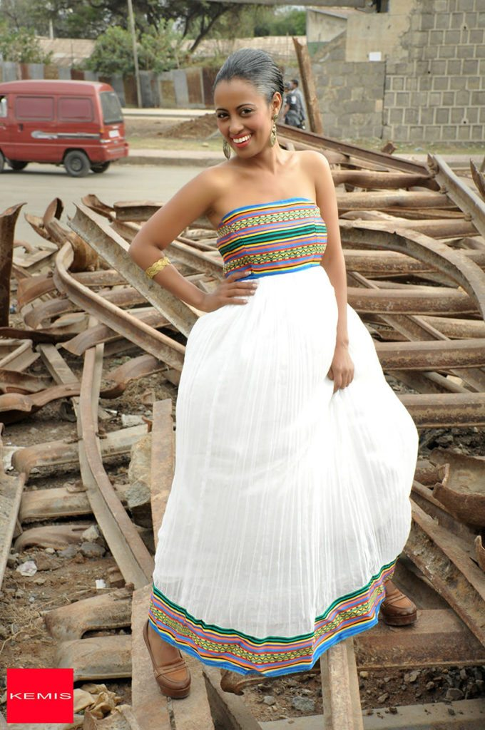 Make a bold statement with Ethiopian dresses