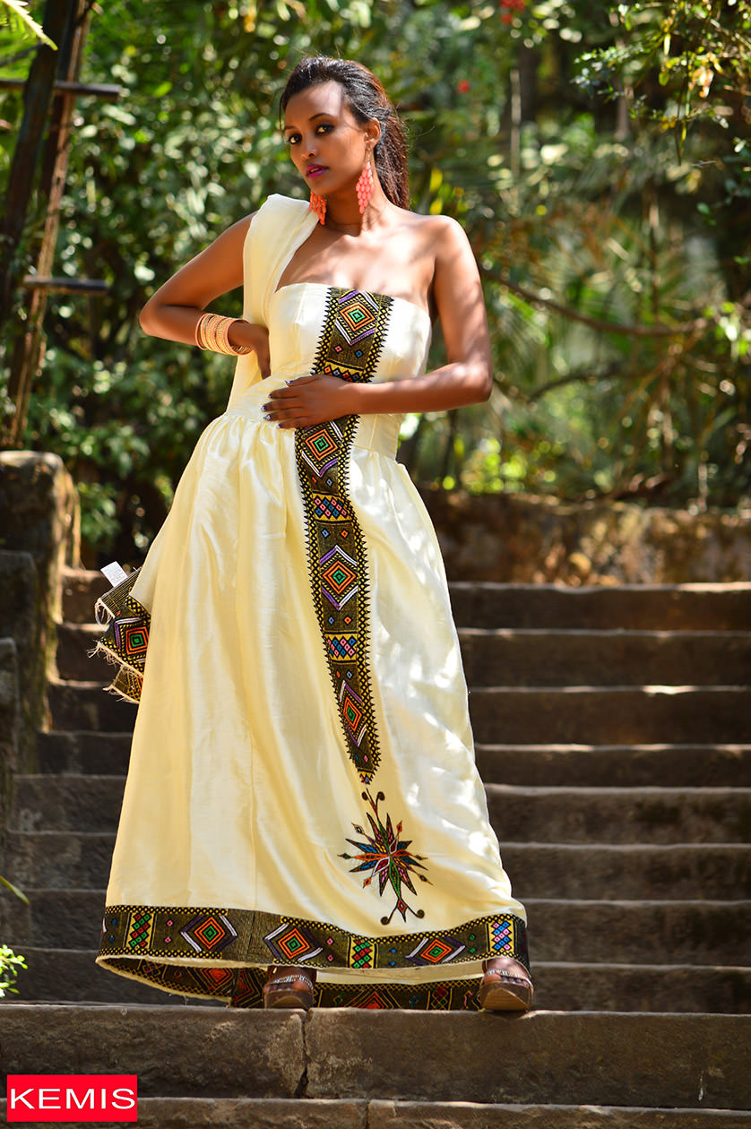 MEYO RAYA ETHIOPIAN TRADITIONAL CLOTHES - Kemis Designs