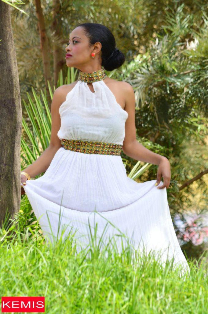 traditional ethiopian wedding dress