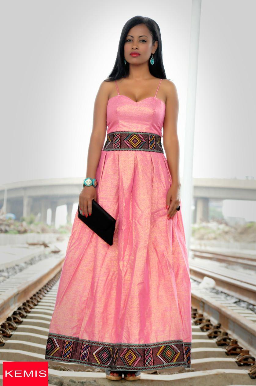 Modern Ethiopian Dress