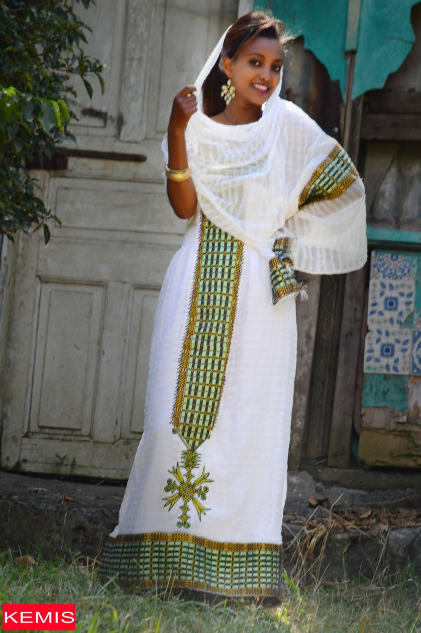 Ethiopian Traditional Clothes Design MEYO MENEN BE ETHIOPIA...
