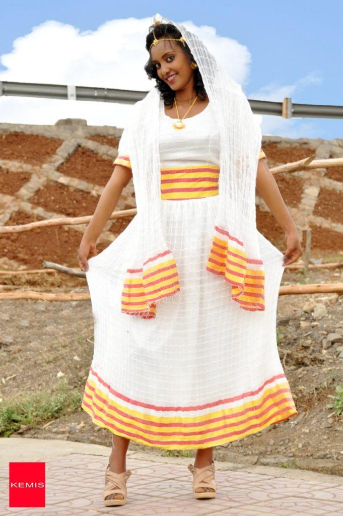 traditional ethiopian dresses kemis designs