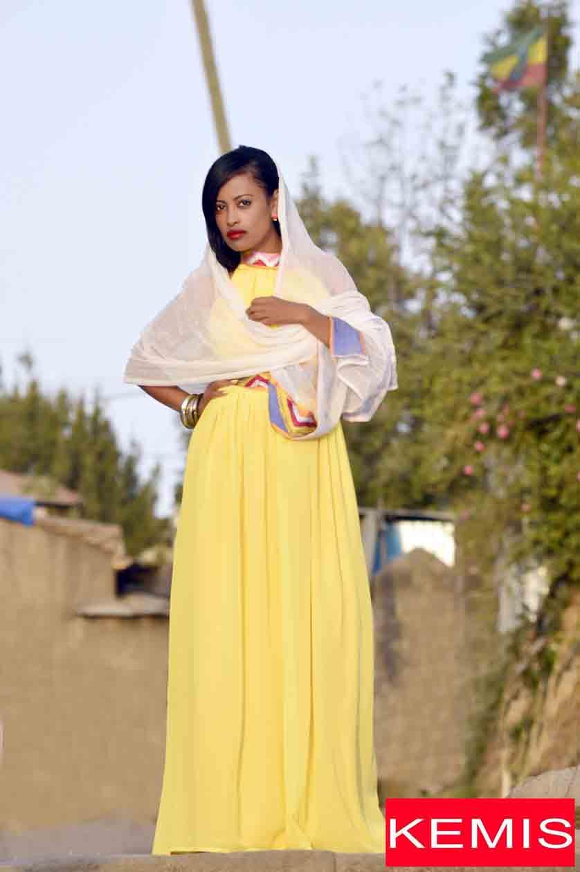 Ethiopian Women modern Dresses