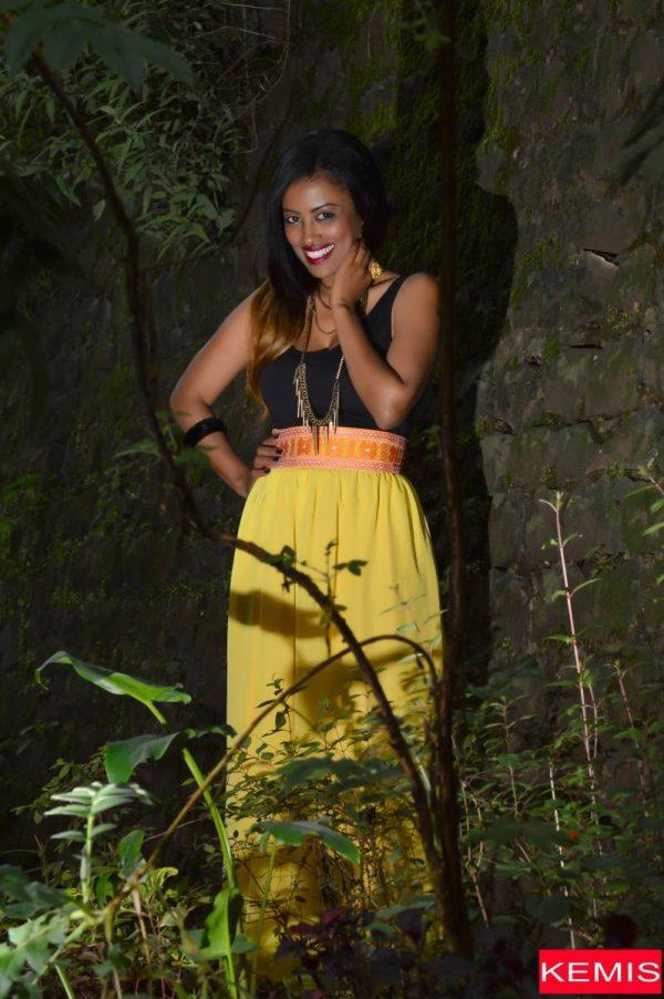 Ethiopian cltural dress