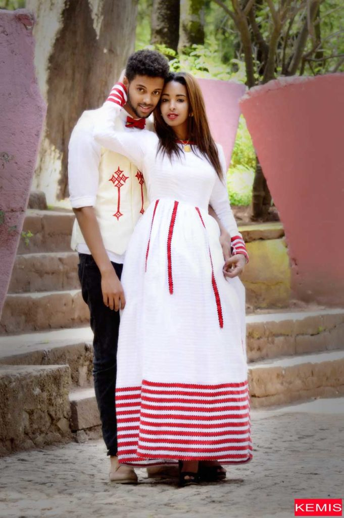 Ethiopian Women WEDDING modern Dresses