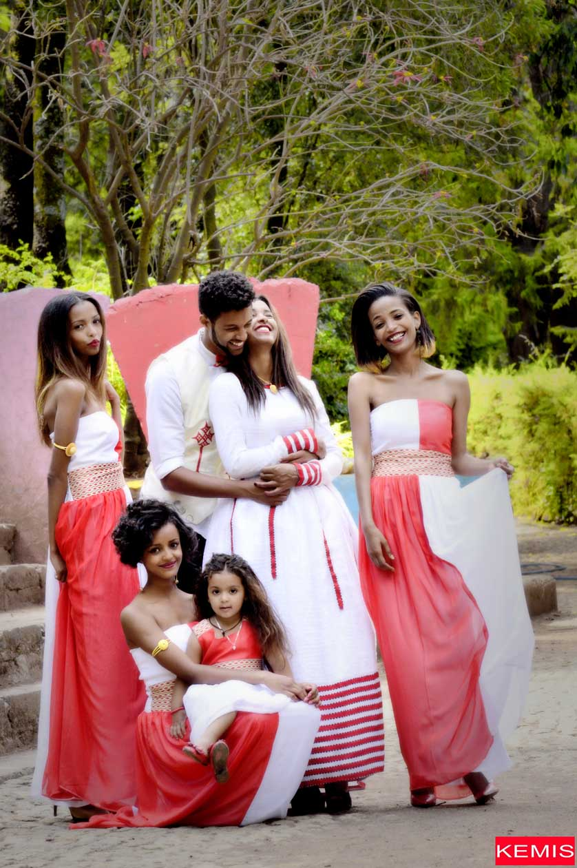 Ethiopian Women WEDDING modern Dresses