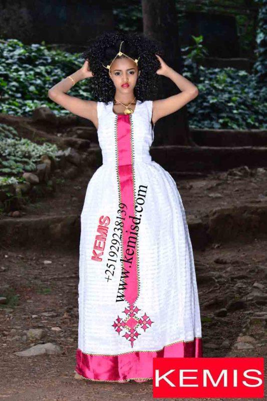 A-TSAI ZERZER ETHIOPIAN DRESSES