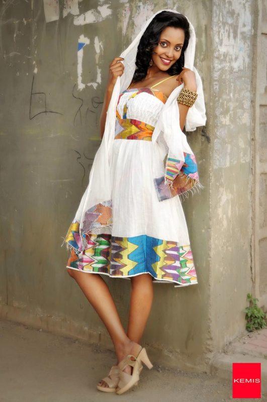 Pin by Elsa V. Tewelde on ERITREA | Ethiopian clothing ...  |Ethiopian Fashion Clothes