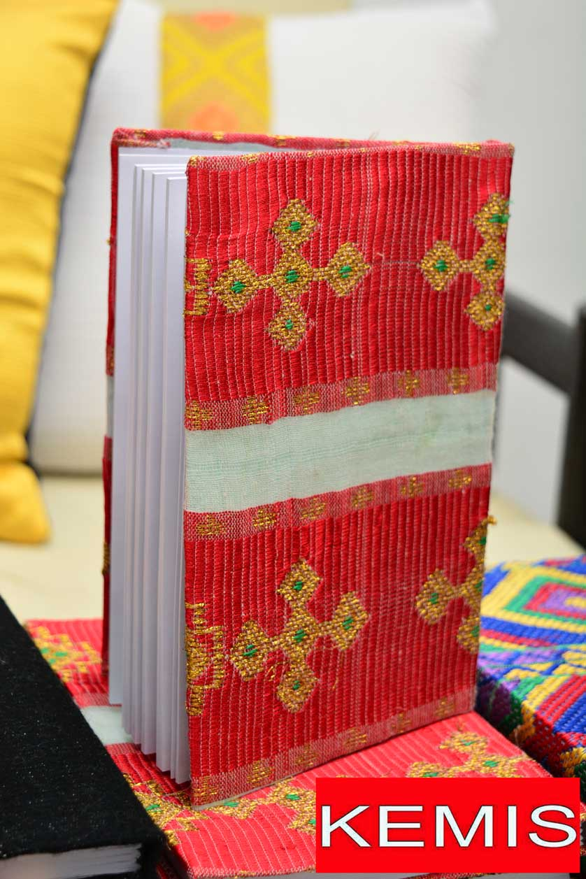 ETHIOPIAN HABESHA HANDMADE CROSS NOTEBOOKS