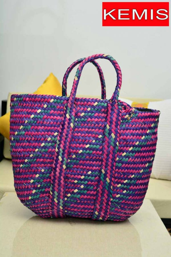 ETHIOPIAN WOMEN BASKET BAG