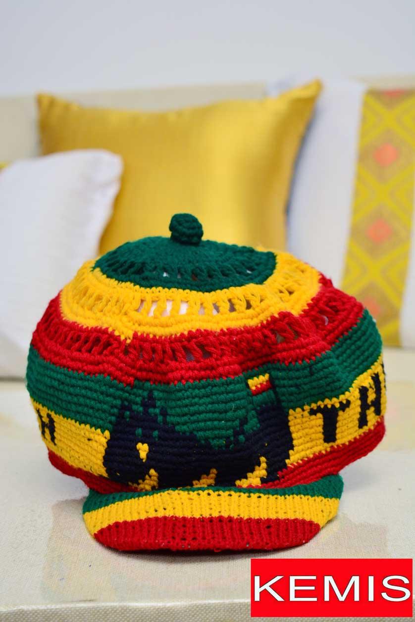 ETHIOPIAN habesha FLAG CAP