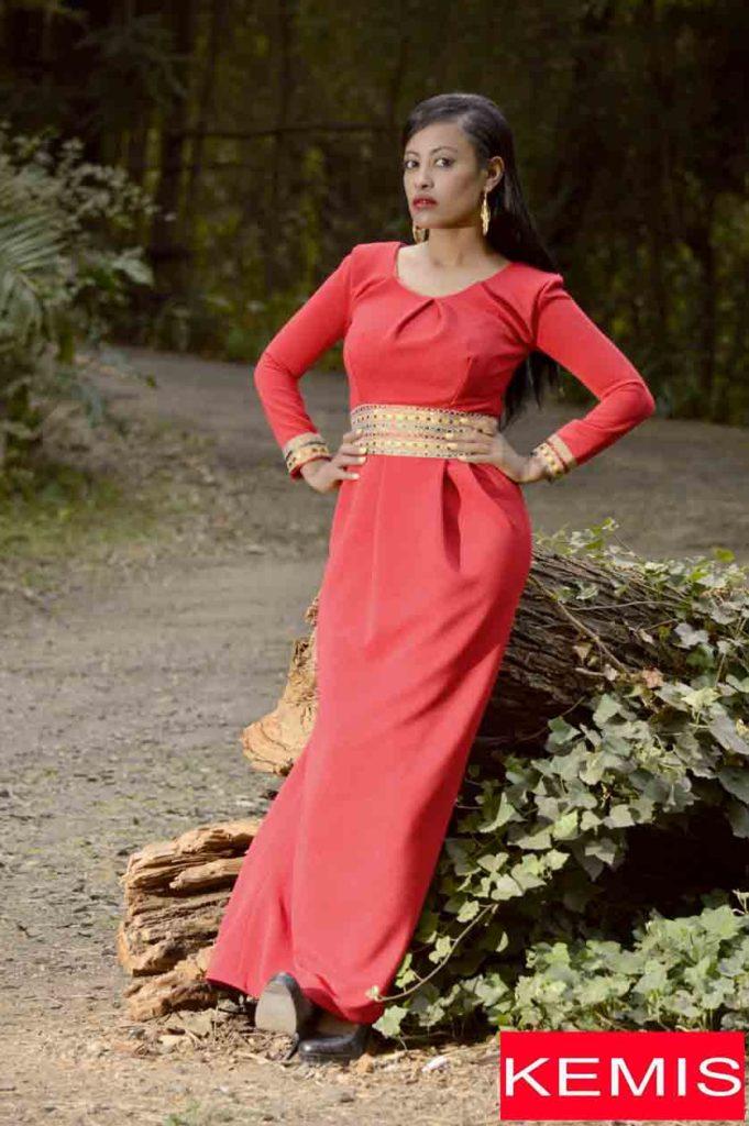ethiopian dress fashion