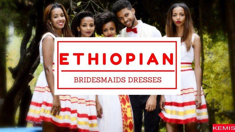 Ethiopian Bridesmaids dress