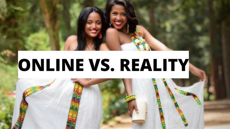 Ethiopian clothing- ONLINE VS REALITY