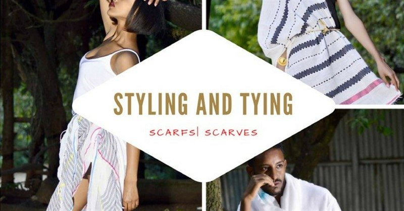 Ethiopian scarfs scarves