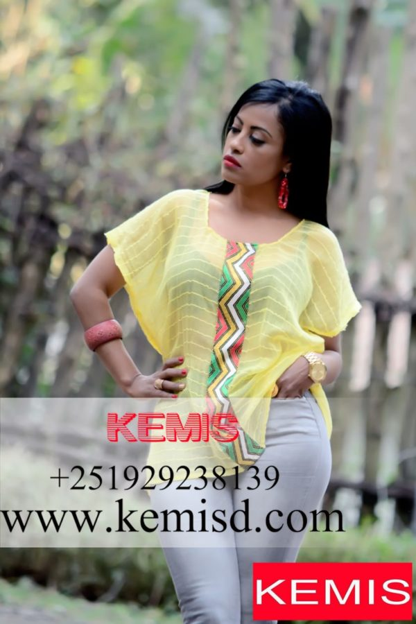 Buy Ethiopian Women's Traditional Clothing - KEMIS