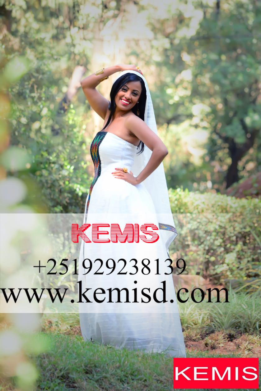 ETHIOPIAN TRADITIONAL DRESS NEW STYLE