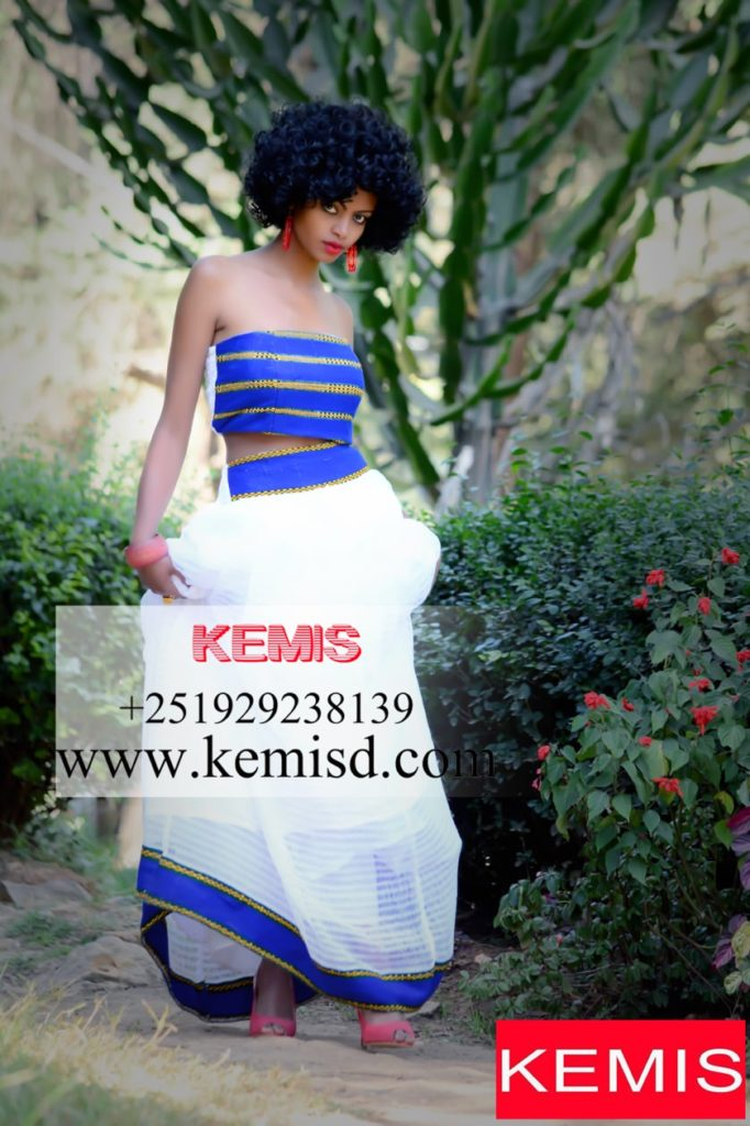 Picked By Us) Habesha dress 2018