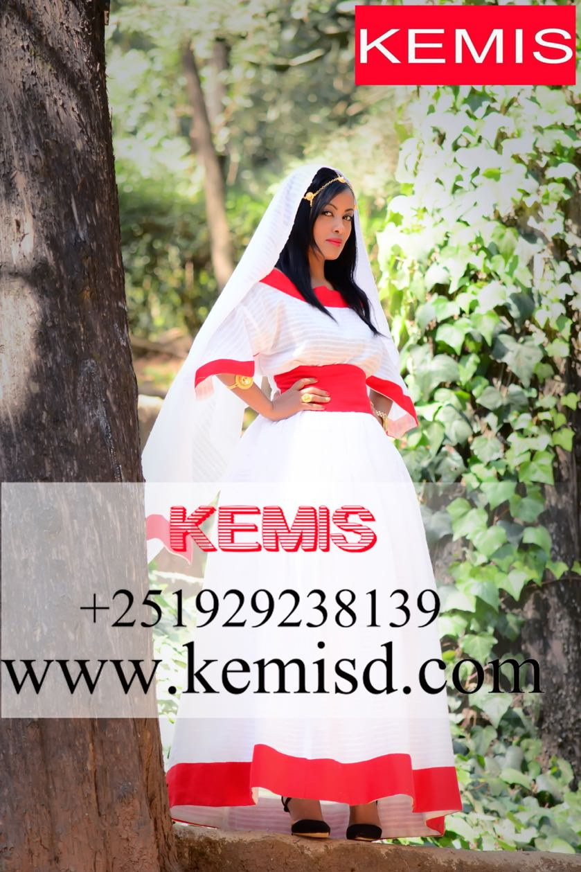 HELEN ETHIOPIAN WEDDING DRESS