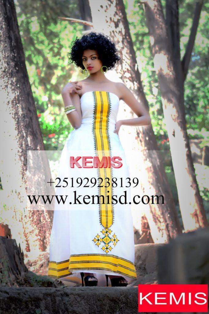 ethiopian wedding clothes