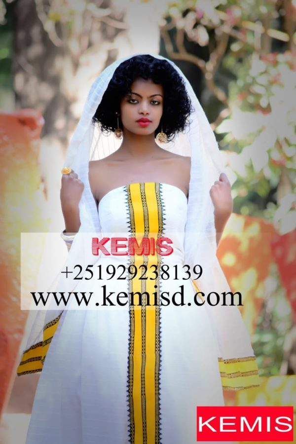 Ethiopian Traditional Dress For Wedding