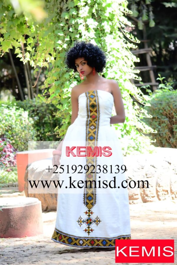 habesha wedding dress