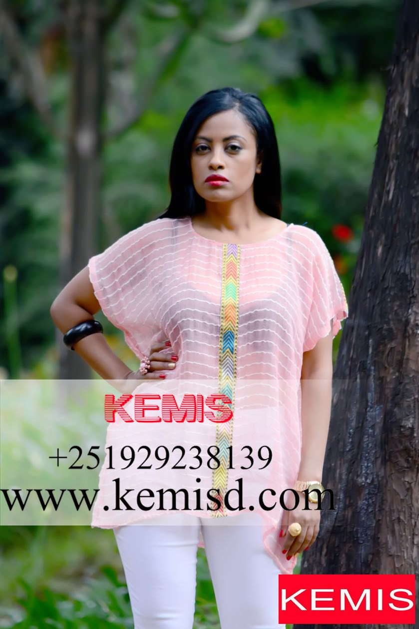 Kersti Ethiopian Woman Shirt Kemis Designs