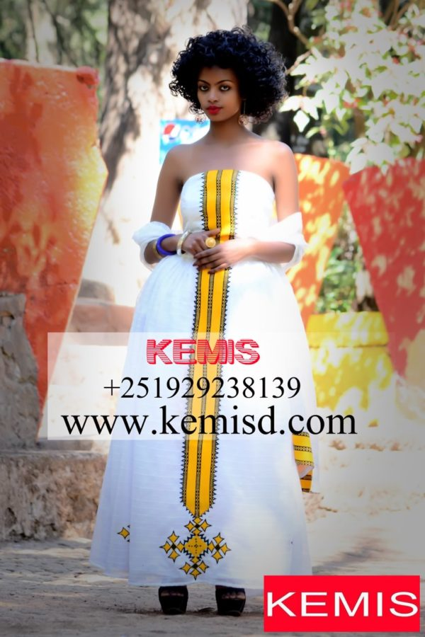 eritrean wedding dress