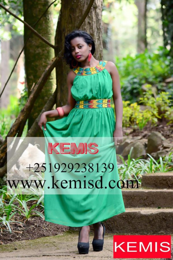 ETHIOPIAN MPDERN DRESS