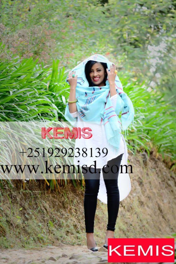 ethiopian colorful scarf