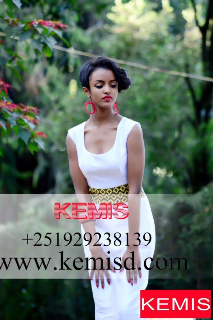 ethiopian modern wedding dress