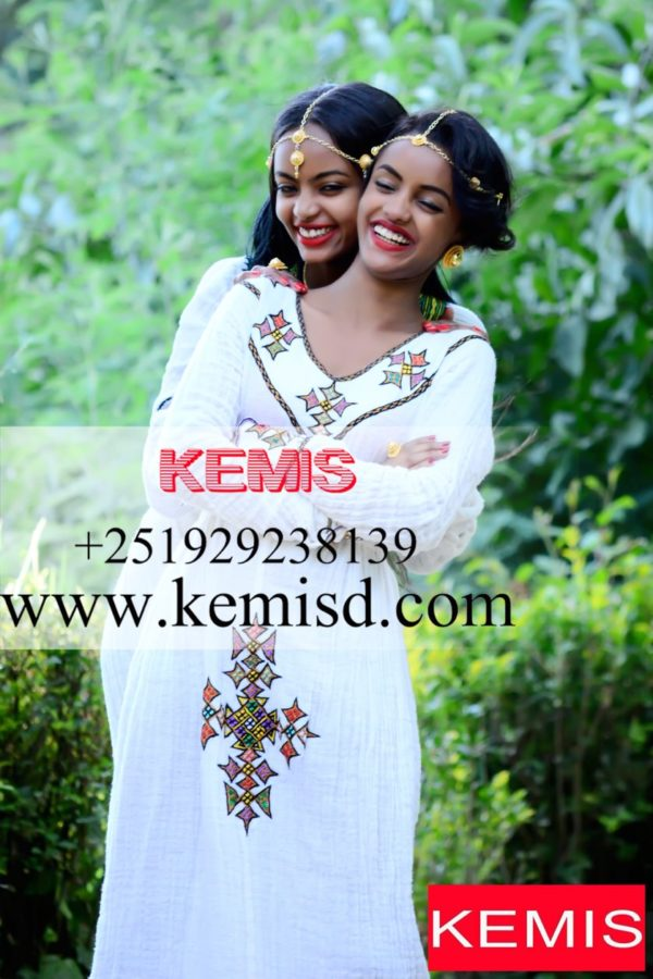 AXUM TIBEB ETHIOPIAN ERITREAN DRESS