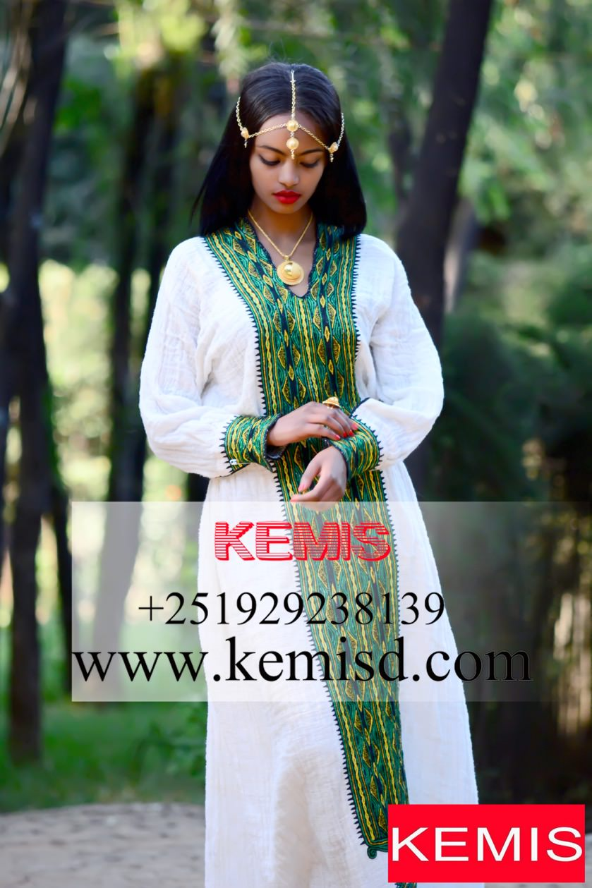Ethiopian Traditional Clothes Design EMMELINE TRADITIONAL A...