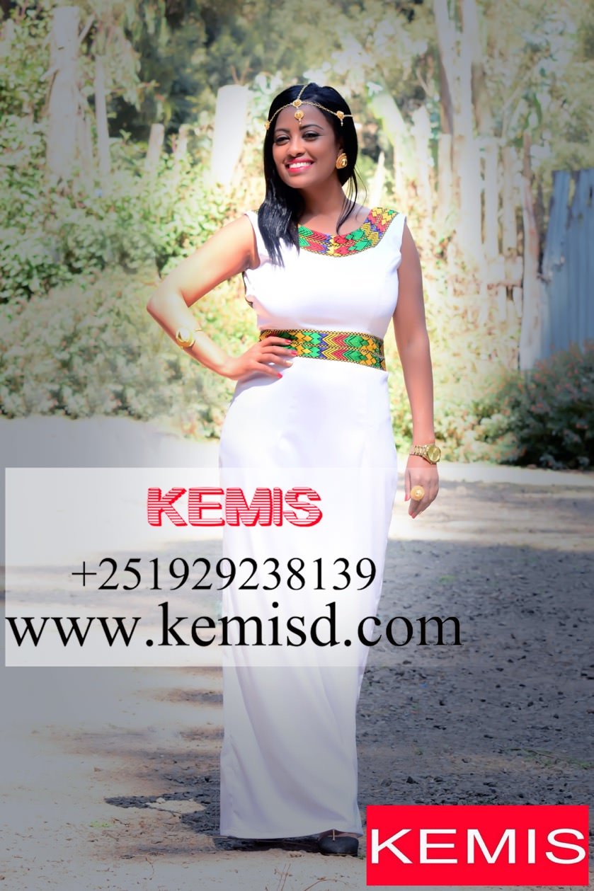 Picked By Us) Habesha dress modern