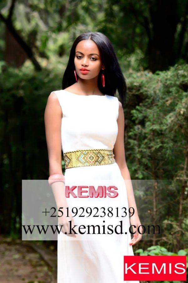 ETHIOPIAN DRESS-HABESHA-DRESS