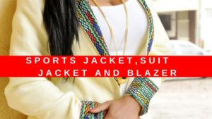 African sports jacket suit jacket and blazer