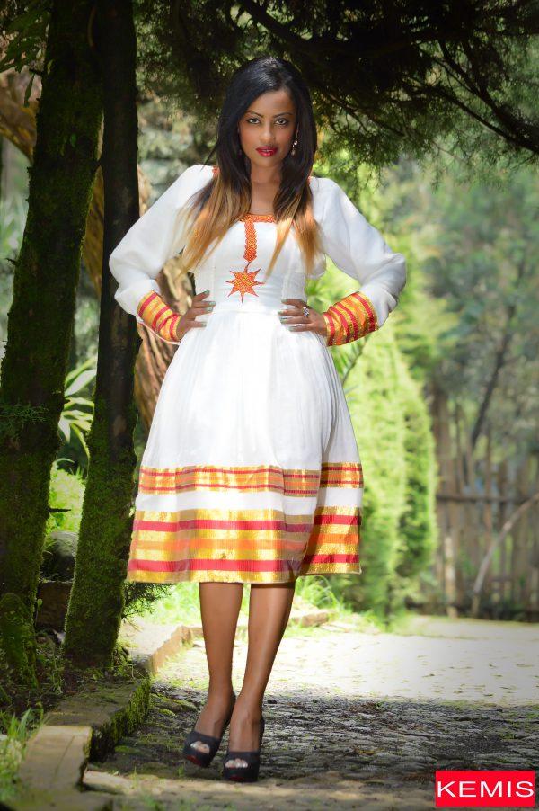 KEMISD ETHIOPIAN CULTURAL TRADIONAL DRESS