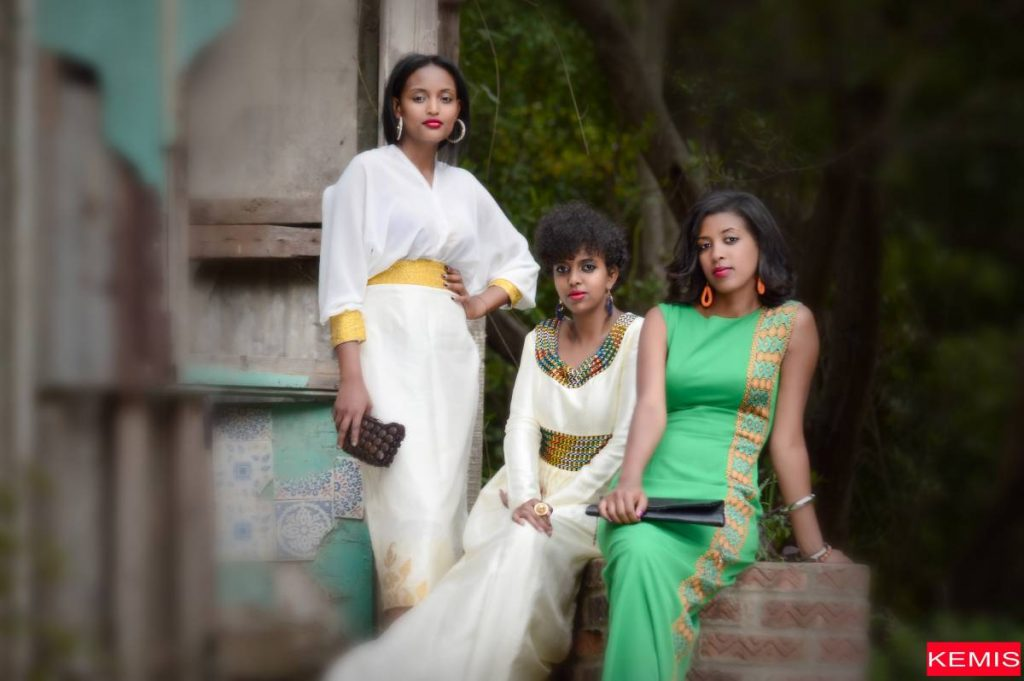 modern habesha clothing