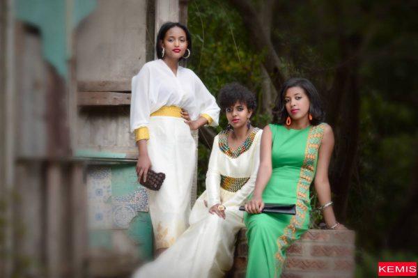 modern habesha clothing